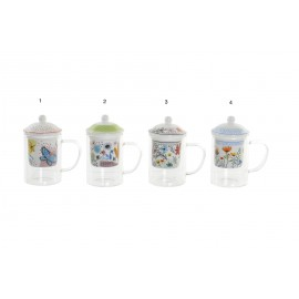 TAZA INFUSION FLORES