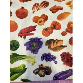 MANTEL ANTIMANCHAS FRUTAS140X140CM